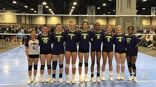 Volleyball academy gets creative while social distancing