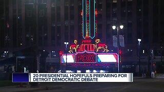 Parts of downtown Detroit transforming ahead of Democratic Presidential Debates