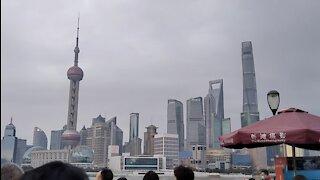 Walking in Shanghai