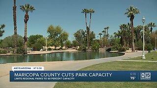 Maricopa County cuts park capactiy