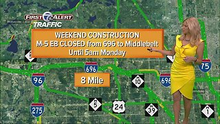 Weekend Construction: I75, I94 and more
