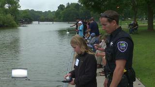 Appleton Police Department holds fishing event