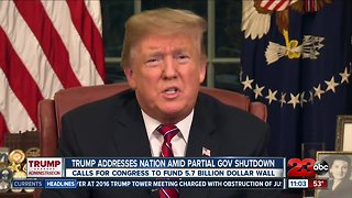 TUESDAY NIGHT: President Trump addresses the nation