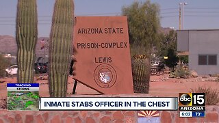 Inmate stabs officer at Lewis Prison in the chest
