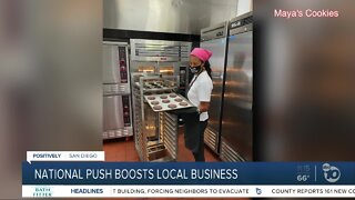 National push boosts local business