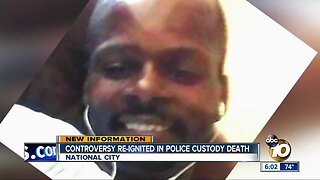 Controversy re-ignited in police custody death
