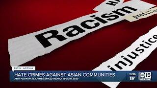Hate crimes against Asian communities increasing