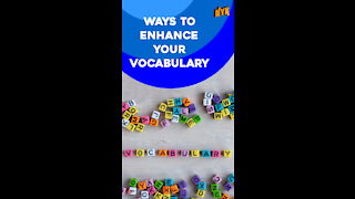 Top 4 Ways To Increase Your Vocabulary *