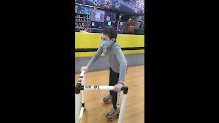Spencer skating