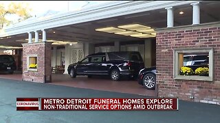 What metro Detroit funeral homes are doing in the wake of the coronavirus pandemic