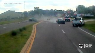 Haines City Police officer speeding at 107 mph seconds before crash