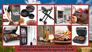 The Teelie Blog | Weekend Cookout Essentials You Need for a Memorable Spring Break | Teelie Turner
