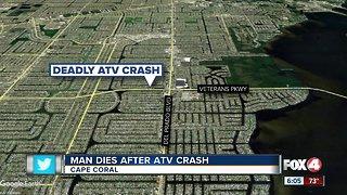 Fatal ATV crash Cape Coral