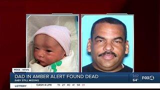 Dad in Amber Alert for missing 1-week-old found dead