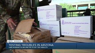 National Guard working to get PPE to coronavirus labs in Arizona