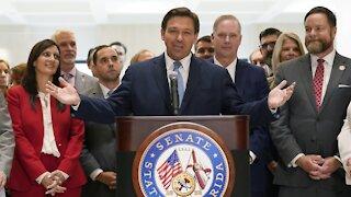Florida Gov. Ron DeSantis Signs Voting Reform Bill Into Law