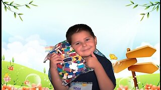 Anksono Building Blocks: Kids Legos Unboxing and Review