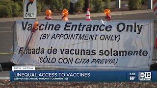 Maricopa County COVID-19 vaccine dashboard shows disparity among zip codes