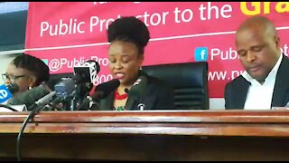 Mkhwebane finds Ramaphosa deliberately misled Parliament, violated the Constitution (Vsr)
