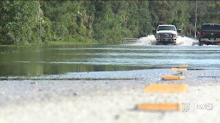 North Port floods after Hurricane Elsa