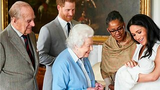 Meghan Markle and Prince Harry introduce their son to the world