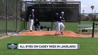 All eyes on Casey Mize at Tigers spring training