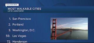 Most walkable cities in America