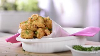 Chipotle Crunchy Chicken Popcorn