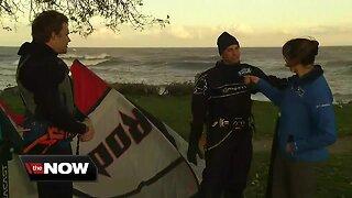 Geeking Out: Kite Surfing