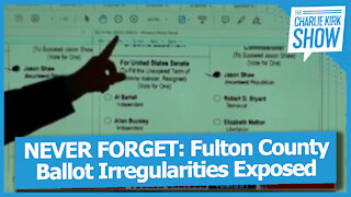NEVER FORGET: Fulton County Ballot Irregularities Exposed