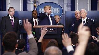 President Trump Says Coronavirus Stimulus Bill Is 'Getting Very Close'