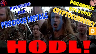 PRESSURE For Gold, Bitcoin Going PARABOLIC SOON!