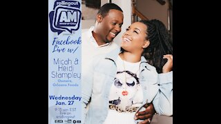 Micah and Heidi Stampley discuss their recipe to love and their famous beignets