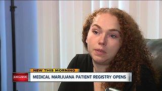 Medical marijuana patient registry opens