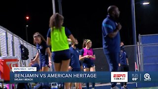 American Heritage off to regional finals