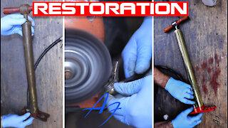 Brass Hand Pump Restoration!!! YOU WON'T BELIEVE
