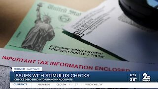 Issues with stimulus checks