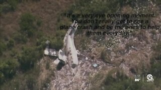 Bystanders help rescue victims in plane crash at North Palm Beach County Airport