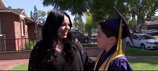 13-year-old graduates from college