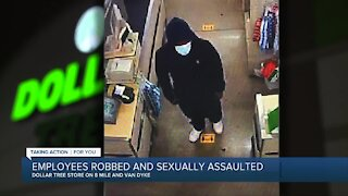 Detroit police release suspect photo in dollar story robbery, sexual assault