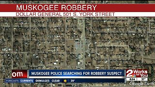 Search for suspects in attempted armed robbery at Muskogee Dollar General