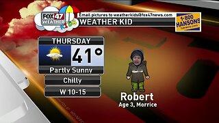 Weather Kid - Robert