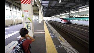 Super Fast Bullet Train In Japan!