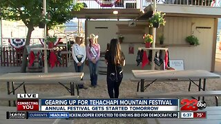 VIP section at Tehachapi Mountain Festival this weekend