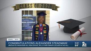 Class of 2020: Alexander Steadman