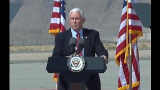 Vice President Mike Pence holds rally in Boulder City