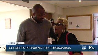 Church Preparing For Coronavirus
