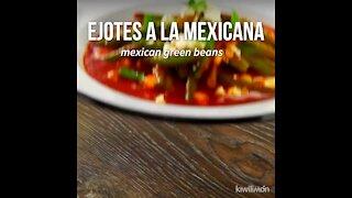 Mexican Green Beans