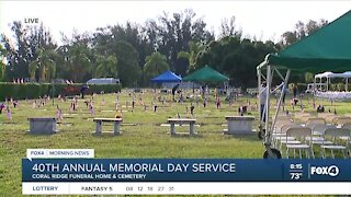 Coral Ridge Funeral Home & Cemetery hosts 40th Annual Memorial Day service