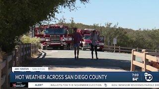 Heat advisory in effect through Friday in San Diego County
